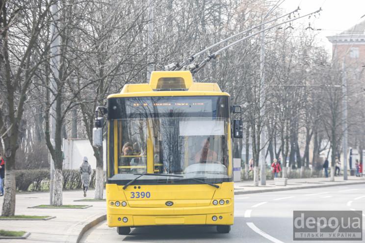 Проїзд у громадському транспорті Києва:…
