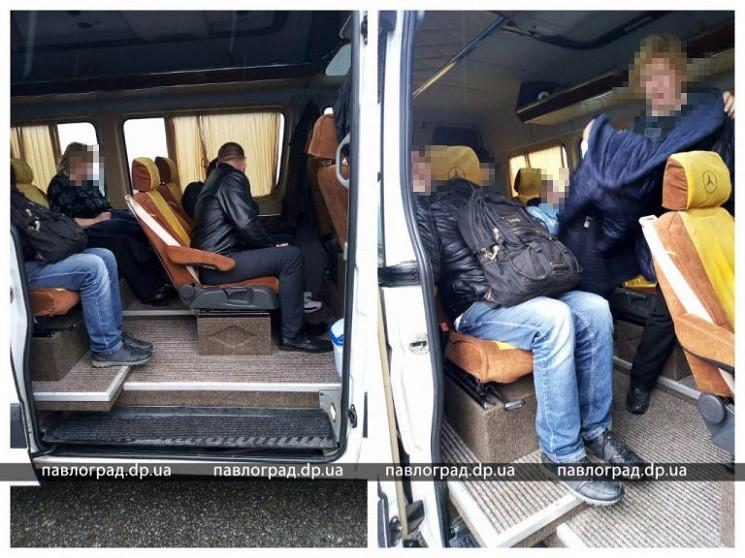 У Павлограді упіймали нелегальних міжміс…