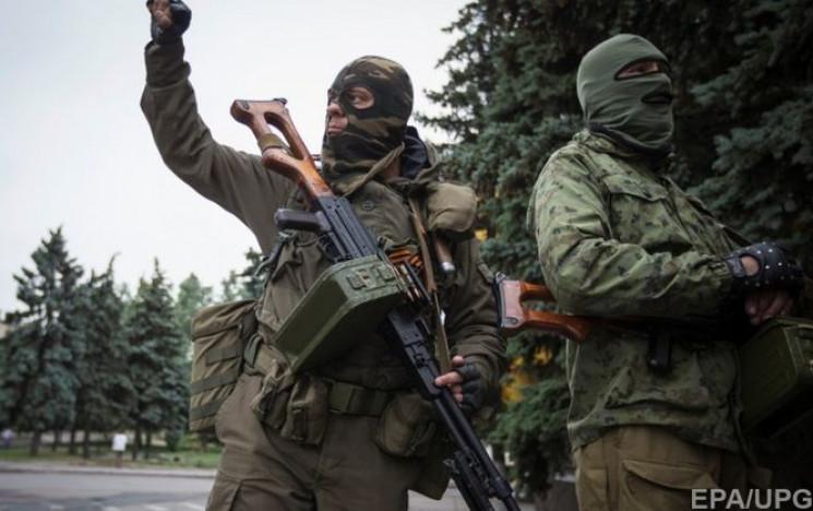 На Донбассе боевики применяют по силам О…