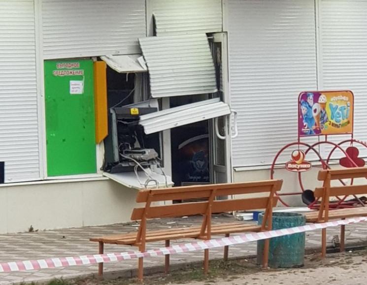 На Запоріжжі невідомі підірвали банкомат…