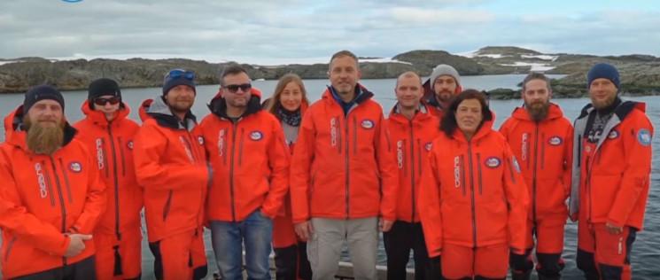 Українські полярники з Антарктиди заклик…