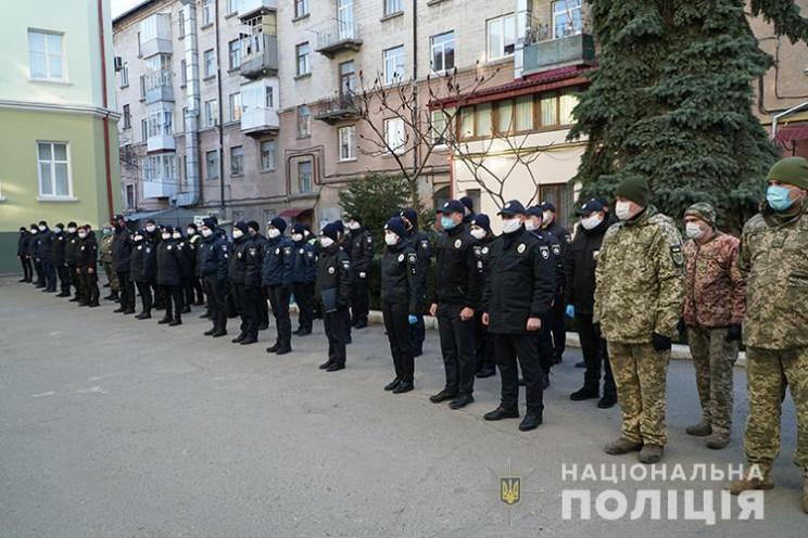 На вулиці Тернополя вийшли спільні патру…