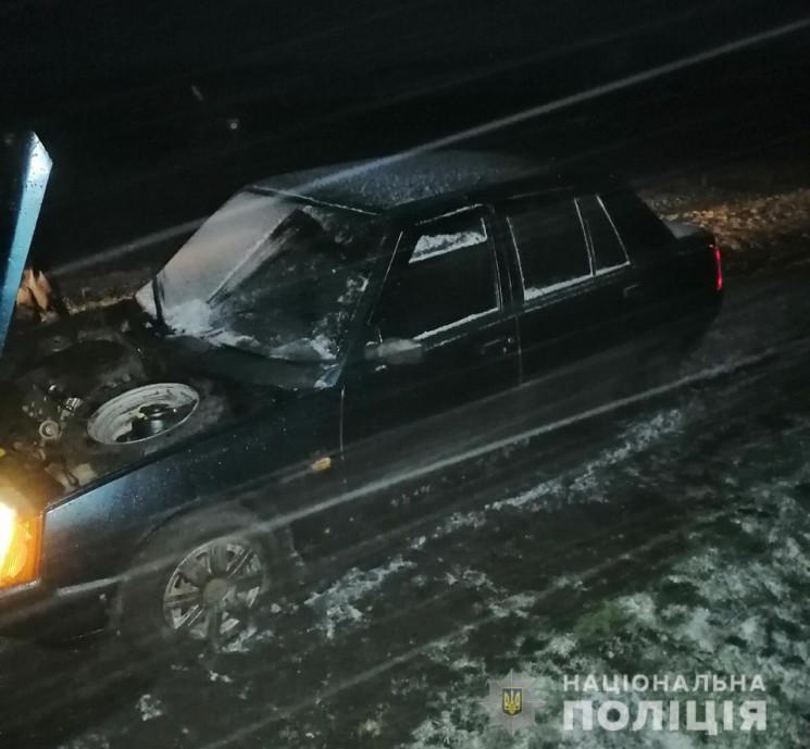 На Харківщині крадій кинув розбите чуже…
