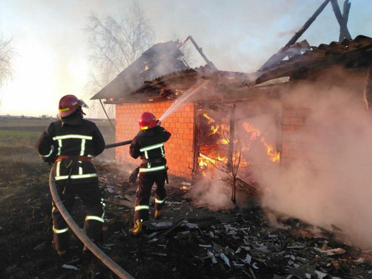 Дубровицькі вогнеборці ліквідували пожеж…