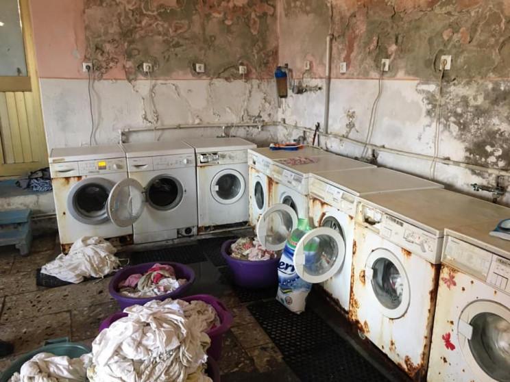 Як на Закарпатті працює лікарняна пральн…