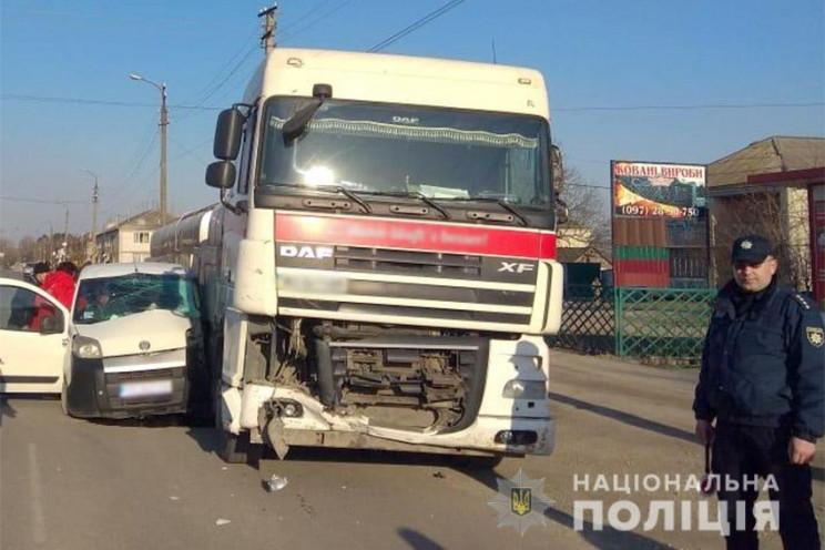 """На Білогірщині 60-річний водій """"Фіату"""" в…"""