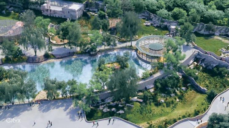 У Кернеса за два басейни і місток у зооп…