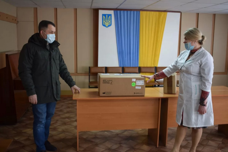 Bakhmatyuk's firm acquires lab equipment…