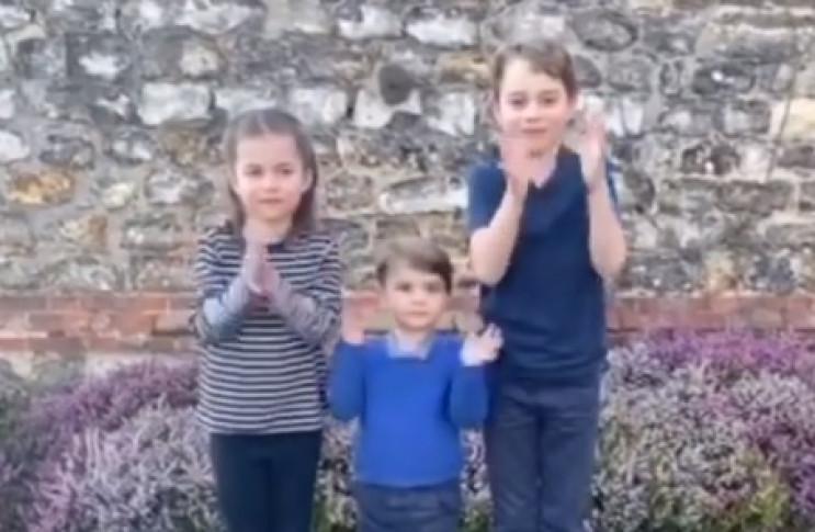 Дети Кейт Миддлтон и принца Уильяма подд…