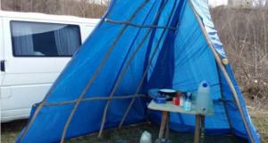 Чем жила Украина: Изоляция в палатке, ос…