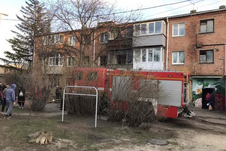 На проспекті Гагаріна під час пожежі заг…
