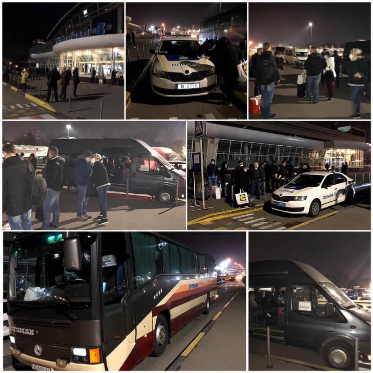До Дніпра з Борисполя доправили 65 людей…
