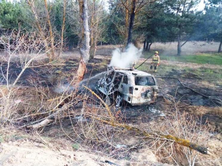Машина с жителями Запорожья попала в жут…