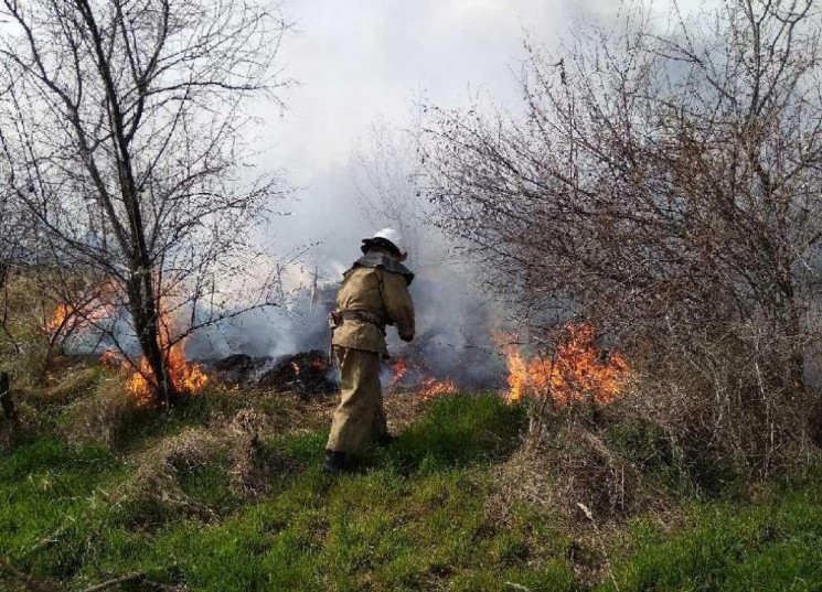 На Одещині ледь не згоріла база відпочин…