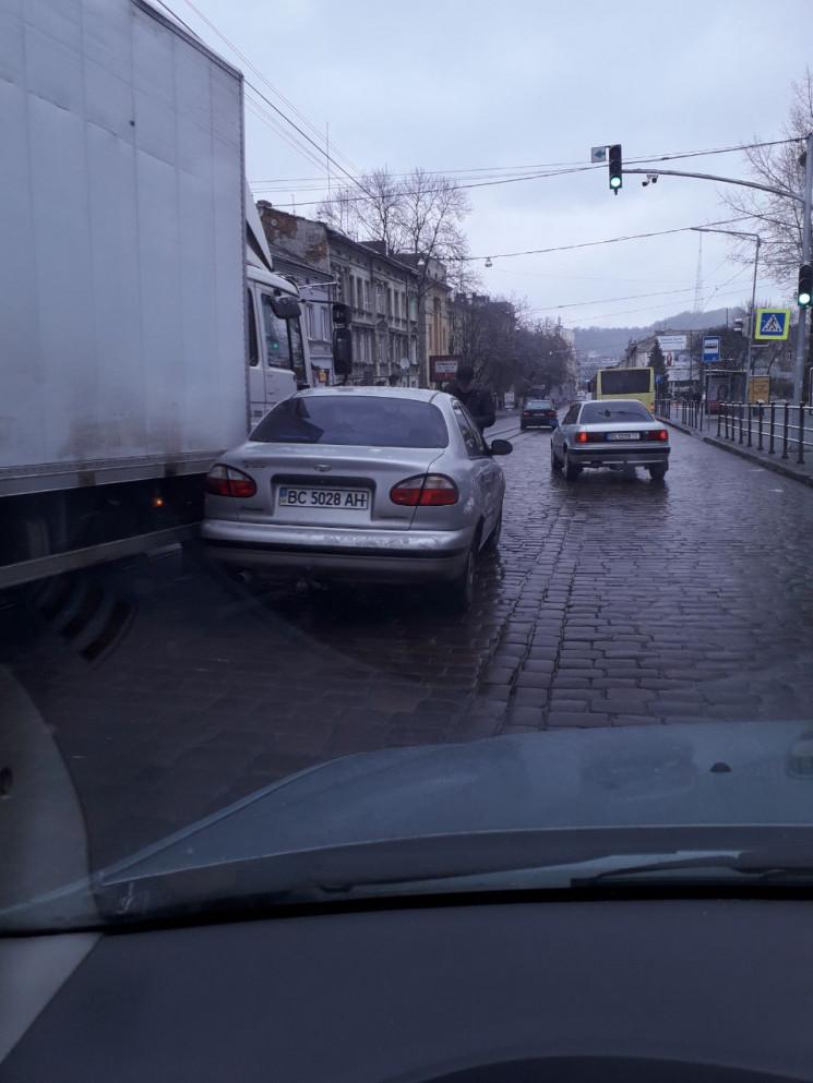 У Львові сталася ДТП на вул. Городоцькій…