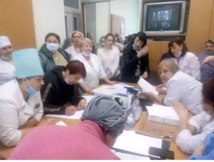 Колектив інфекційного відділення житомир…