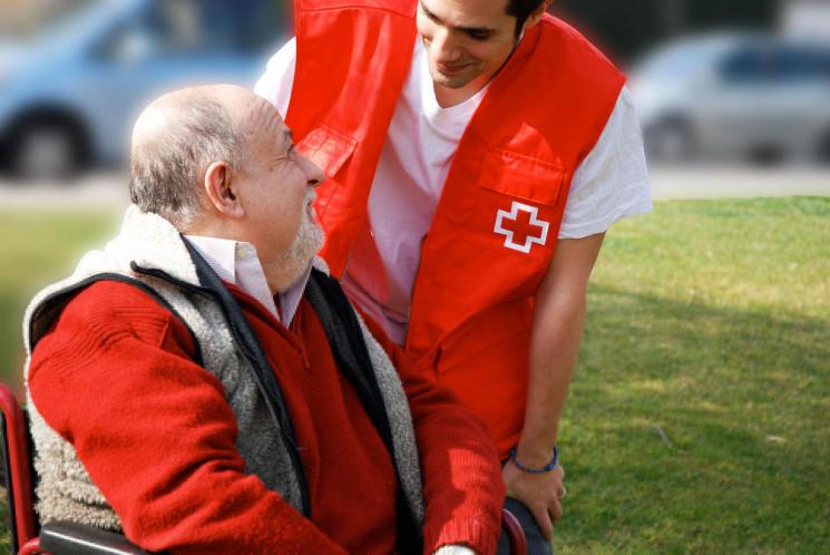 У Кропивницькому Червоний Хрест роздає п…