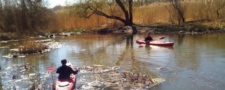 Кропивницькими реками прокладывают турис…