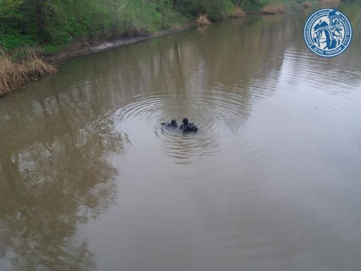 У Кривому Розі на дні річки прорвало вод…
