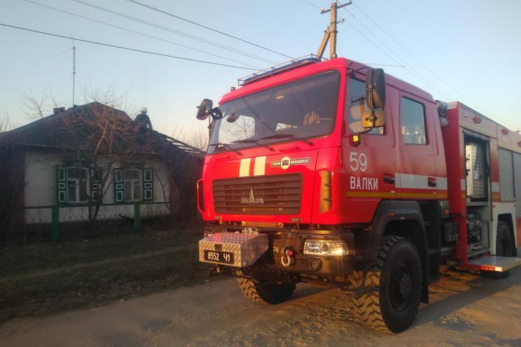 На Харьковщине пожарные спасли от уничто…