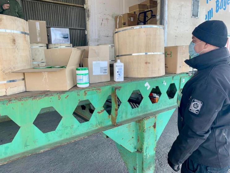 Одесские пограничники помешали вывозу за…