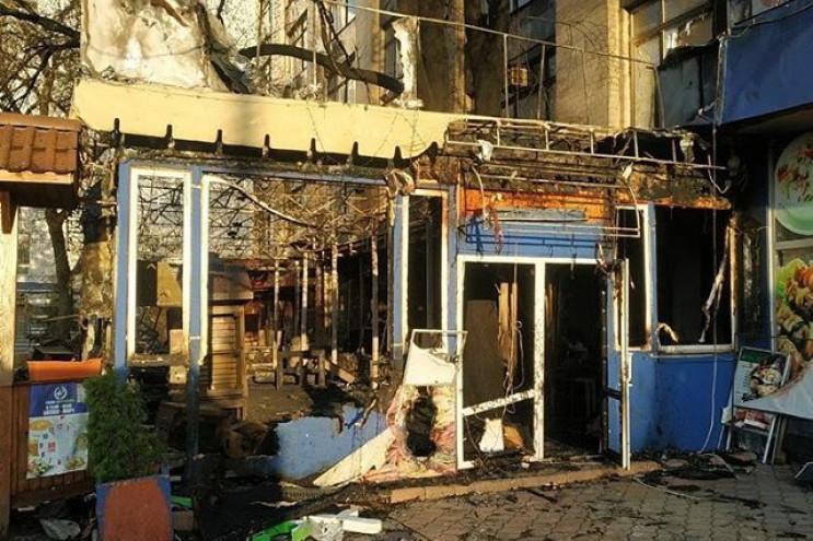 Поліція розслідує пожежу в кафе в центрі…