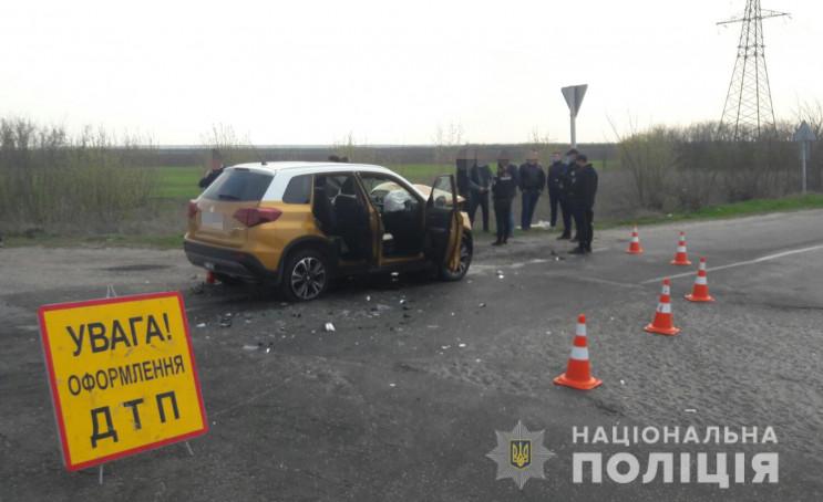 На трассе в Запорожской области столкнул…