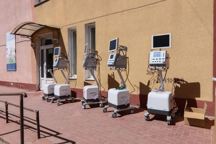 Для Одессы закупили восемь новых аппарат…