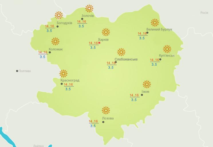 У Харкові очікується по-весняному теплий…