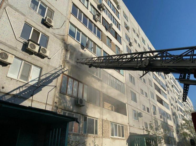 В Энергодаре произошел мощный пожар в мн…