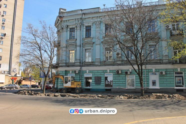 """У центрі Дніпра вулицю """"переобладнають""""…"""