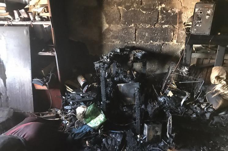 На Харківщині в будинку згорів чоловік…