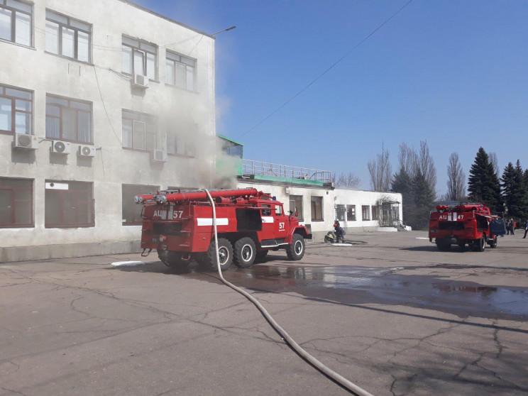 На Дніпропетровщині сталася пожежа на ша…