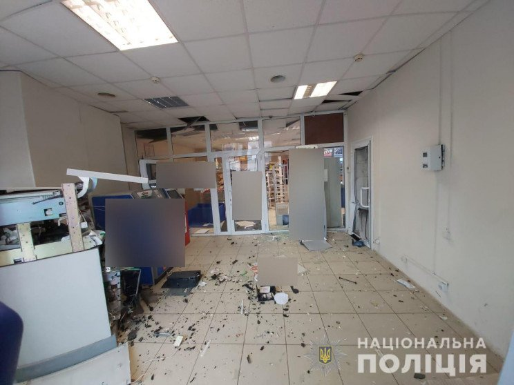 Подрыв банкомата в Харькове: Полиция отк…