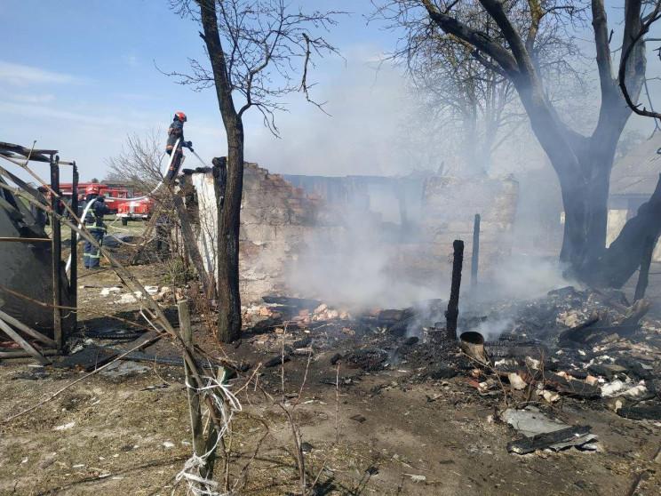 У Корецькому районі загасили пожежу (ФОТ…