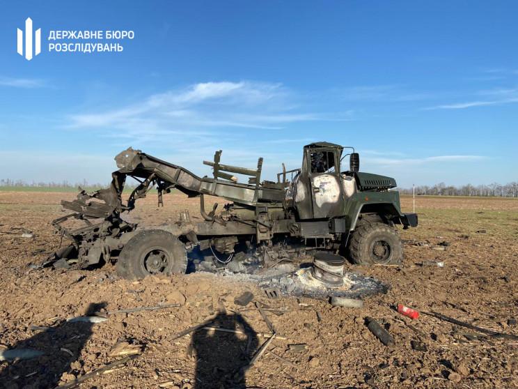 На Херсонщине взорвался военный грузовик…