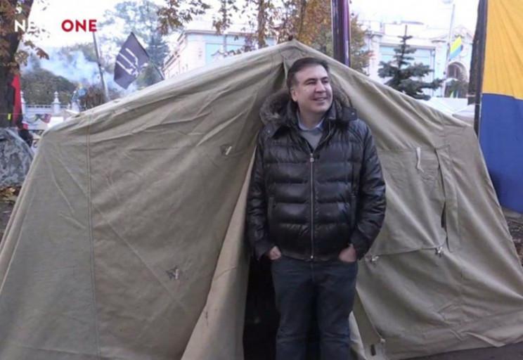 Саакашвілі і палатка. Чому віце-прем'єр…