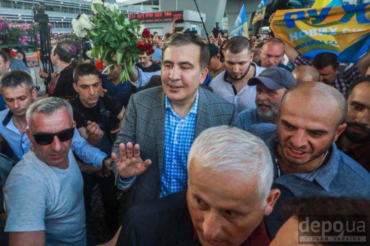 Видео дня: Вице-премьер Саакашвили и про…