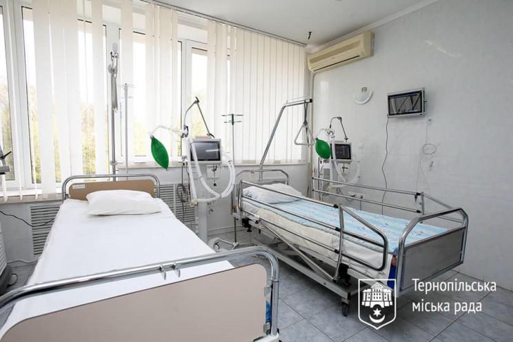 Чотири апарати ШВЛ отримала Тернопільськ…