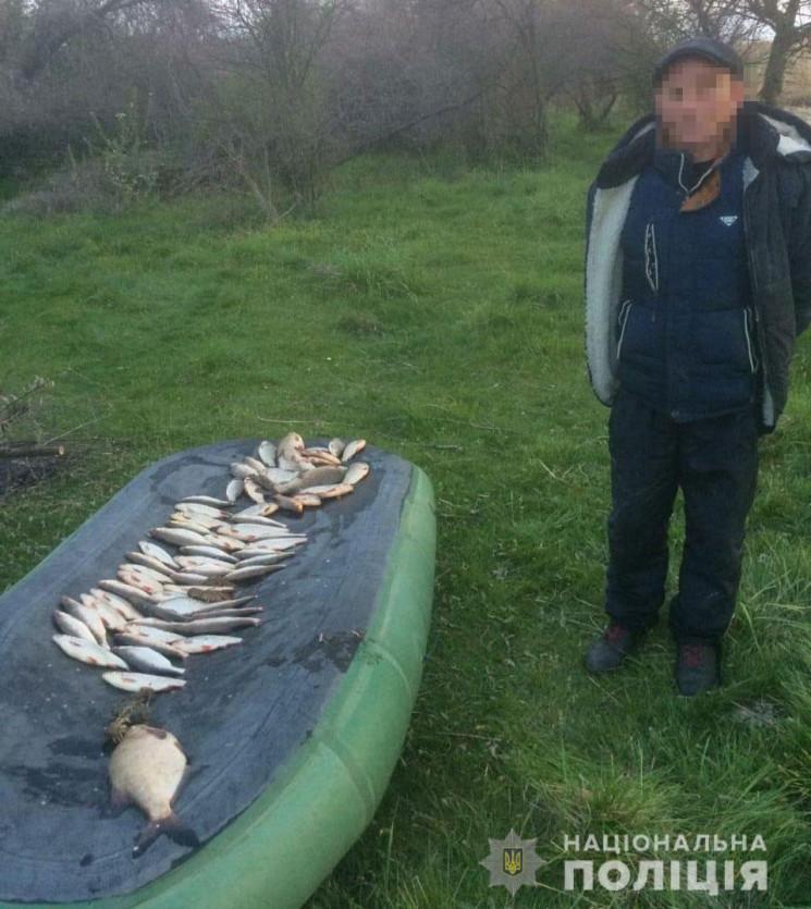 На Дніпропетровщині браконьєр перегороди…