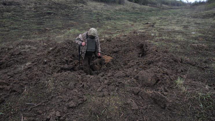 В ООС позиции бригады с Днепропетровщины…