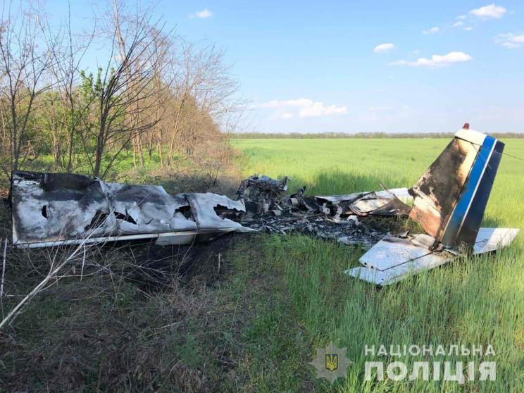 Поліція розслідує падіння літака неподал…