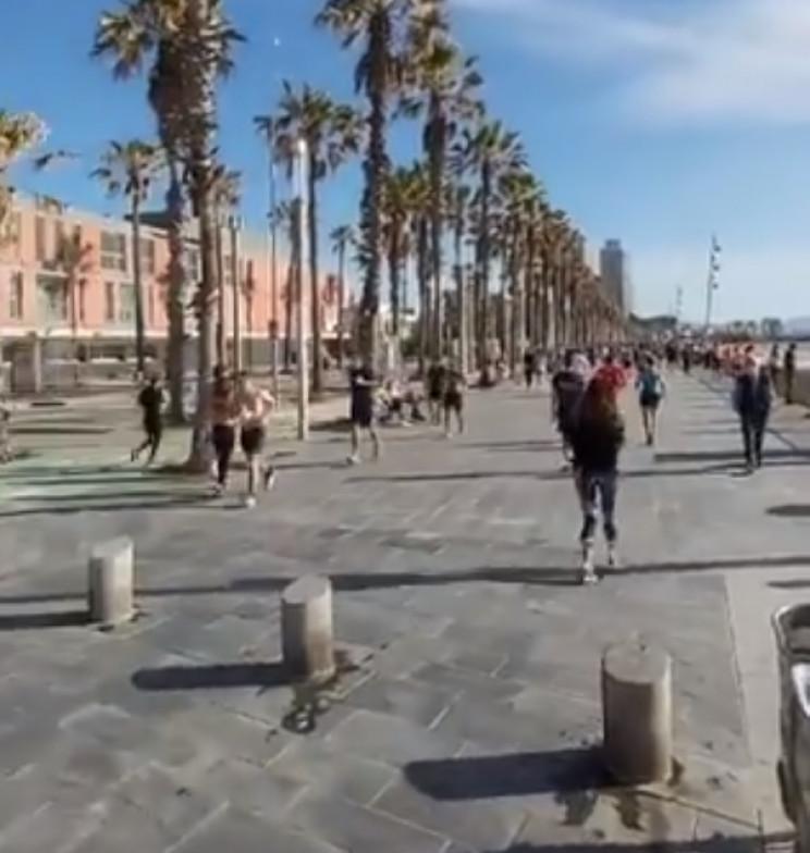 В Іспанії в перший день пом'якшення кара…