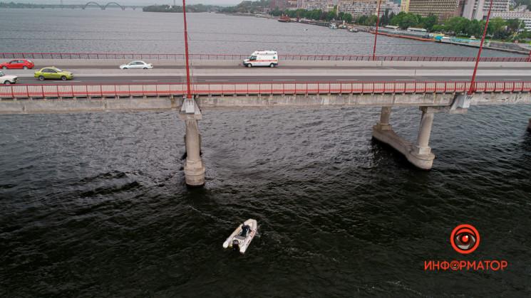В Днепре мужчина прыгнул с Нового моста…