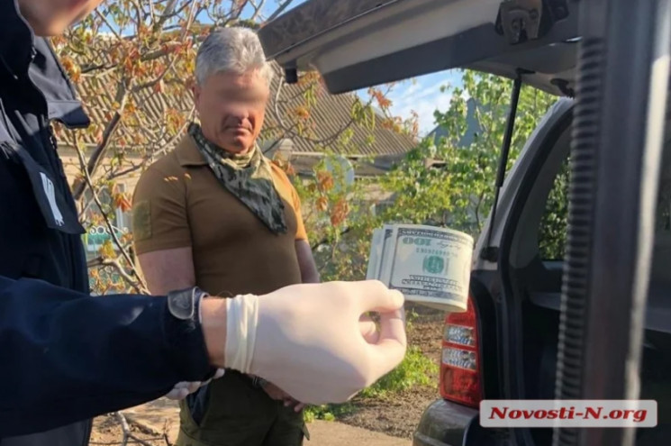 На Николаевщине на взятке задержали чино…