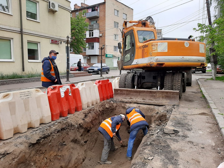 На вулиці Академіка Янгеля розпочали рек…
