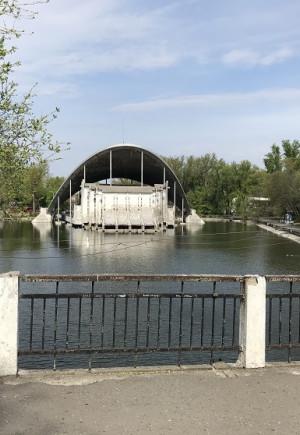 Порятунок озера і лазерне шоу: Як у Дніп…