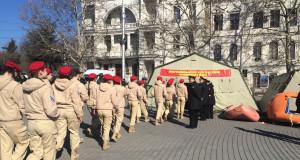 Тотальная милитаризация: Как в Крыму про…