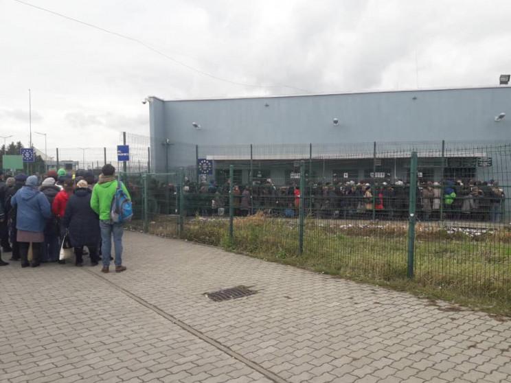 Украина открывает пешеходный пункт пропу…