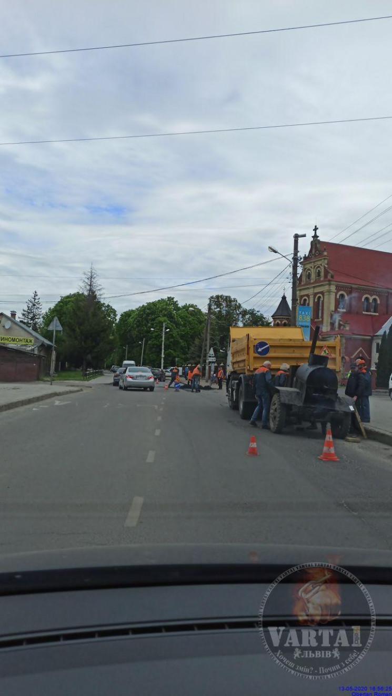 На Замарстинівській розпочали ремонт дор…